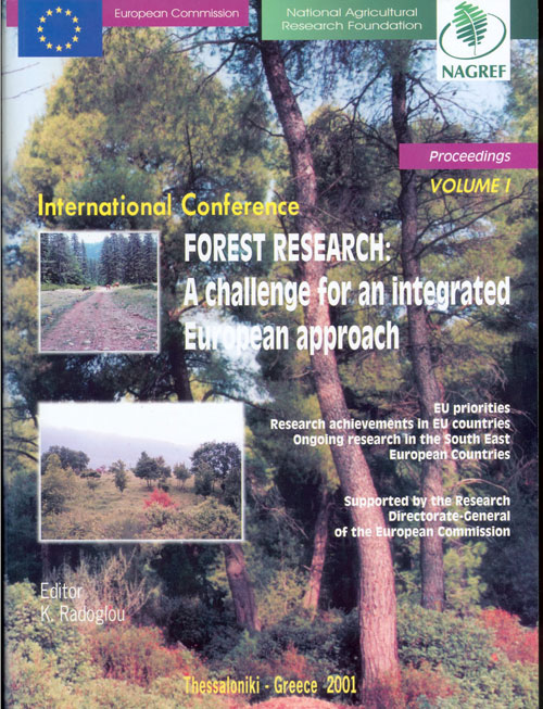 Forest Research: A challenge for an integrated European approach Vol I