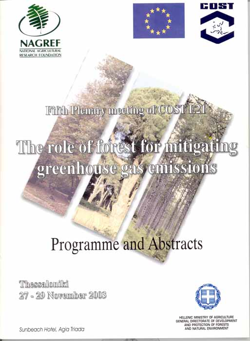 The role of forest for mitigating greenhouse gas emissions